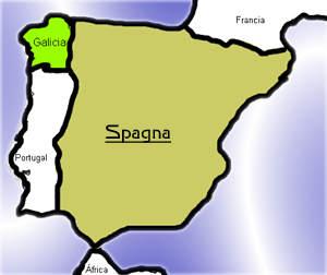 Spagna Galizia Cartina.Galizia