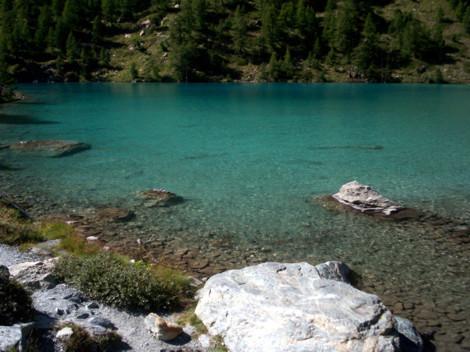 Lac Bleu St. Jacques