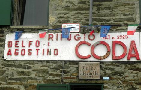 Rifugio Delfo e Agostino Coda ai Carisey